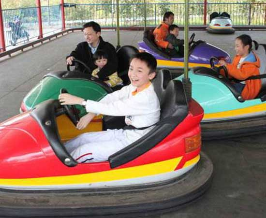 Electric Bumper Cars for Funfair