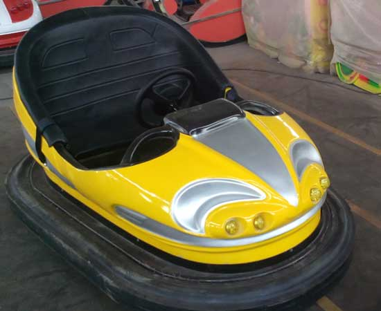 Yellow Electric Bumper Cars